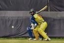 Dinesh Karthik prepares to scythe one away, Tamil Nadu v Tripura, Vijay Hazare Trophy 2019, October 6, 2019