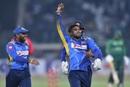 Wanindu Hasaranga took three wickets in four balls, Pakistan v Sri Lanka, 2nd T20I, Lahore, October 7, 2019