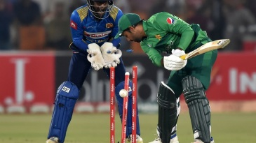 Sarfaraz Ahmed was done in by a googly