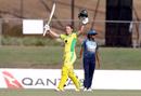 Alyssa Healy's 71-ball hundred took Australia to their record-breaking win, Australia v Sri Lanka, 3rd Women's ODI, Allan Border Field, October 9, 2019