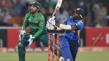 Bhanuka Rajapaksa: smacking Pakistan out of contention in the T20Is