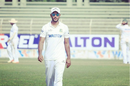 Muktar Ali gets back to his fielding position during Rajshahi's NCL match against Khulna, 2018.