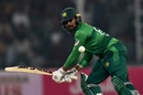 Haris Sohail looks to play one towards third man, Pakistan v Sri Lanka, 3rd T20I, Lahore, October 9, 2019