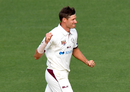 So what's the secret? Cameron Gannon removed Steven Smith for a duck, Queensland v New South Wales, Sheffield Shield, Brisbane, October 10, 2019