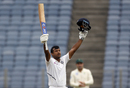 Mayank Agarwal extended his form with another century, India v South Africa, 2nd Test, Pune, 1st day, October 10, 2019