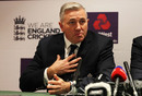 England Head Coach Chris Silverwood speaks to the media following his appointment, Lord's, October 10, 2019