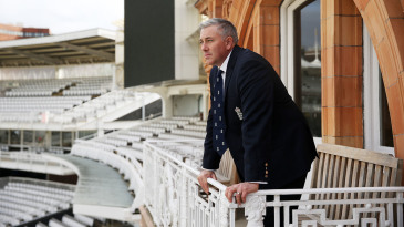 England Head Coach Chris Silverwood at Lord's