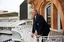 England Head Coach Chris Silverwood at Lord's, October 10, 2019