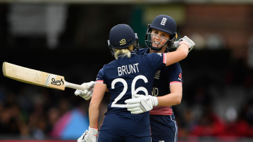 Nat Sciver and Katherine Brunt both played key roles in England's 2017 World Cup win