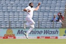 Mohammed Shami takes flight,  India v South Africa, 2nd Test, Pune, 3rd day, October 12, 2019
