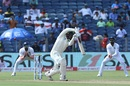 Quinton de Kock punches on the up,  India v South Africa, 2nd Test, Pune, 3rd day, October 12, 2019