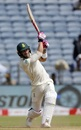 Faf du Plessis hits over the top  India v South Africa, 2nd Test, Pune, 3rd day, October 12, 2019