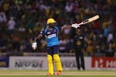 Jonathan Carter got his second CPL fifty on the biggest stage, Guyana Amazon Warriors v Barbados Tridents, CPL 2019 final, Trinidad, October 12, 2019