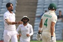 Ishant Sharma sends back Aiden Markram,  India v South Africa, 2nd Test, Pune, 4th day, October 13, 2019