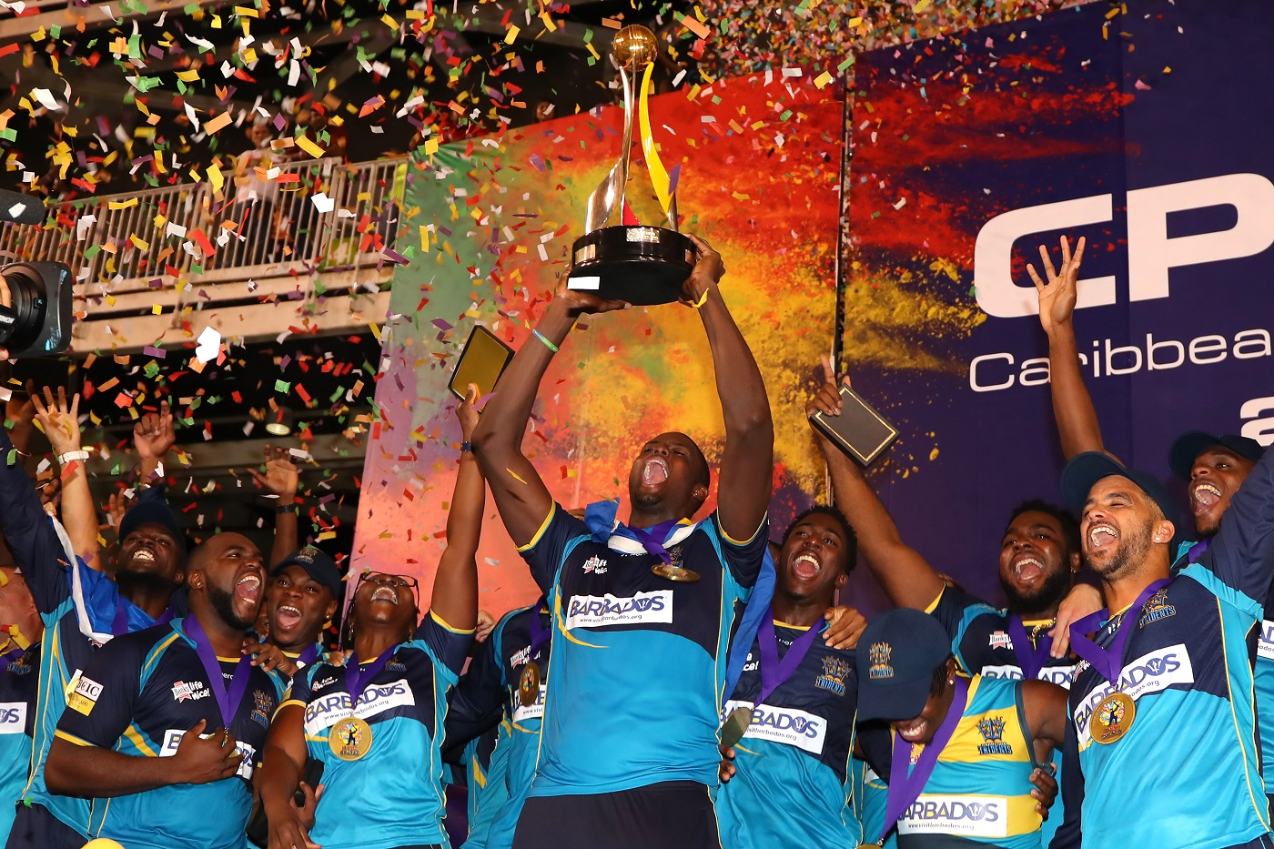 Go local: the Caribbean Premier League has switched from trying to appeal to an Indian audience to now being wholly focused on its domestic fan base and talent