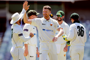 Jackson Bird completed a five-wicket haul, Western Australia v Tasmania, Sheffield Shield, WACA, October 13, 2019