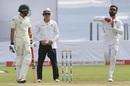 Virat Kohli runs in to bowl,  India v South Africa, 2nd Test, Pune, 4th day, October 13, 2019