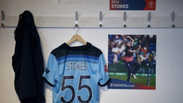 Ben Stokes' locker is a much calmer place these days