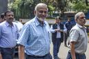 Brijesh Patel arrives at the BCCI headquarters, Mumbai, October 14, 2019