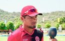 Rongsen Jonathan speaks to a BCCI commentator