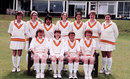 Shaiza Khan (back row, third from left) part of an MCC women's squad in England