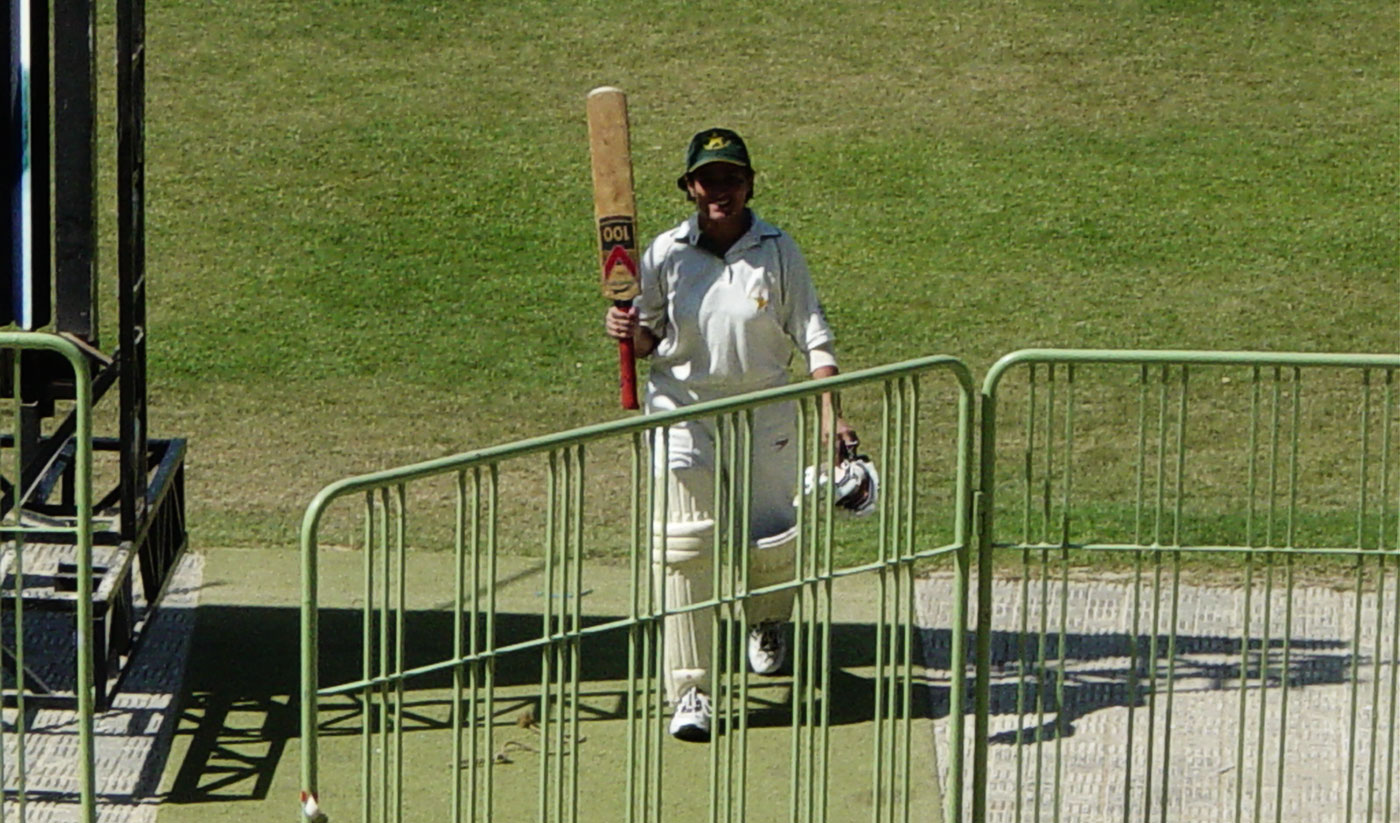 Kiran Baluch still holds the world-record Test score of 242