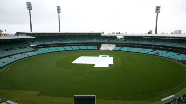 There will be a delayed start to the cricket season at the SCG