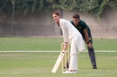 Kate Middleton bats during her visit to Pakistan, with Shaheen Shah Afridi keeping wickets, Lahore, October 17, 2019