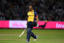 Ravi Bopara hit an unbeaten 36 off 22 balls to lift Essex to the Blast title in his final T20 for the county, Worcestershire v Essex, Vitality Blast final, Edgbaston, September 21, 2019