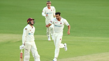 Debutant Wes Agar's triple strike rattled Queensland