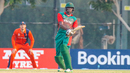 Collins Obuya smokes a flat six over long-on, Kenya v Netherlands, T20 World Cup Qualifier, Dubai, October 18, 2019