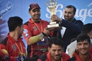 Mohammad Nabi's Mis Ainak Knights won the Shpageeza title