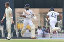 Ajinkya Rahane and Rohit Sharma complete a run, India v South Africa, 3rd Test, Ranchi, 1st day, October 19, 2019