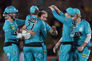 Amelia Kerr came close to a hat-trick on her WBBL debut, Sydney Sixers v Brisbane Heat, WBBL, North Sydney Oval, October 19, 2019
