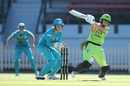 Phoebe Litchfield became the youngster player to hit a WBBL fifty, Brisbane Heat v Sydney Thunder, WBBL, North Sydney Oval, October 20, 2019