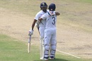 Rohit Sharma and Ajinkya Rahane embrace each other, India v South Africa, 3rd Test, Ranchi, 2nd day, October 20, 2019