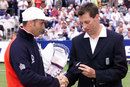Marcus Trescothick receives his England cap