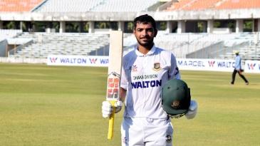Saif Hassan cracked an unbeaten double-century