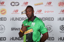 Andre Russell was selected for Southern Brave at No. 2 in The Hundred draft, London, October 20, 2019
