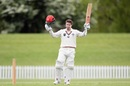 Henry Nicholls opened the Plunket Shield with a century against Northern Districts, Canterbury v Northern Districts, Plunket Shield, Christchurch, October 21, 2019
