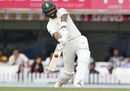 Dane Piedt smacks one down the ground, India v South Africa, 3rd Test, Ranchi, 3rd day, October 21, 2019
