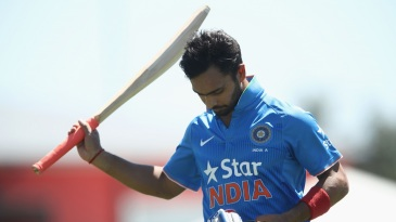 Mandeep Singh was not happy
