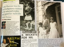 Clippings from magazine and newspaper articles about Faith Thomas