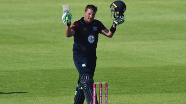 Josh Cobb - who made a maiden T20 ton last summer - was among the county players left disappointed after the draft for The Hundred
