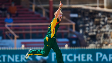 Nathan Ellis bagged his first five-wicket haul