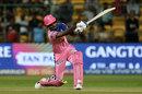 Sanju Samson slogs, Royal Challengers Bangalore v Rajasthan Royals, IPL 2019, Bengaluru, April 30, 2019