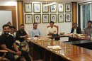 India's selectors sit down with captains Rohit Sharma, Virat Kohli and the new BCCI officers, 24th October, Mumbai