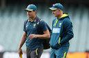 Mr Cricket, Mike Hussey, back in Australia kit, Australia v Sri Lanka, 1st T20I, Adelaide, October 27, 2019