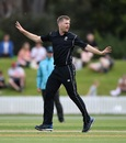 Lockie Ferguson marked his return from injury with three wickets, New Zealand XI v England XI, Tour match, Lincoln, October 27, 2019