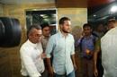 Shakib Al Hasan walks into the press conference, Dhaka, October 29, 2019